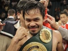 Пакьяо признан лучшим боксером десятилетия