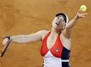 Мадрид WTA: Клейбанова сенсационно переиграла Венус Уильямс