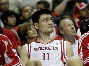 NBA: Яо Мін вибув до кінця сезону