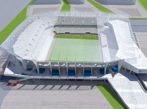 Евро-2012: На львовском стадионе начали строить зрительские трибуны
