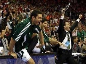 Панатинаикос выиграл  Евролигу