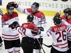 ЧМ-2009: Канадцы громят словаков, Франция обыграла Германию