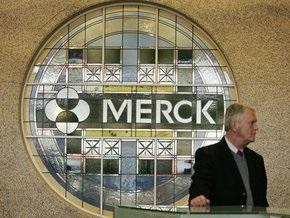 Прибыль Merck упала почти на 80%