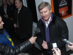 Ахметов: Добре, що український футбол на висоті
