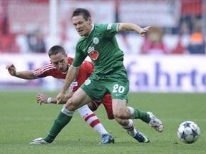 Бундеслига: Вольфсбург отгрузил Баварии пять мячей, Вердер не оставил шансов Ганноверу