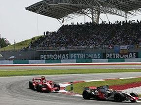 Затверджено розклад на Гран-прі Малайзії
