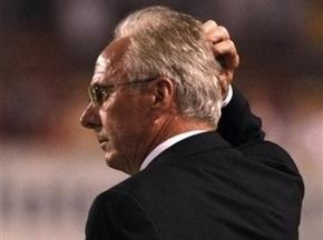 Мексиканская федерация футбола готовится снять Эрикссона