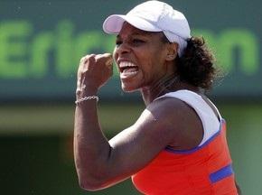Майами: Серена Уильямс ожидает сестру в полуфинале