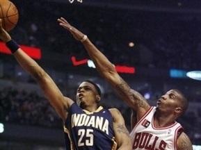 NBA: Чикаго обыграл Индиану