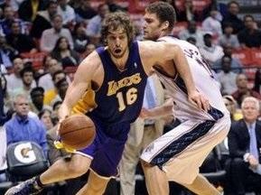 NBA: 36 очки По Газоля приносять перемогу Лейкерс