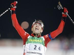 Бьорндален бере Малий глобус у спринті