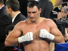WBC визнала Віталія Кличка найкращим нокаутером в історії боксу