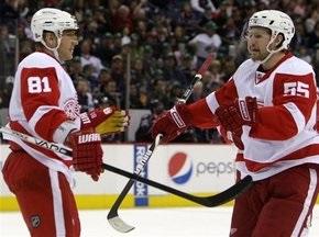 NHL: Детройт і Сан-Хосе пробили сотню