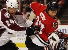 NHL: Колорадо здолало Чикаго