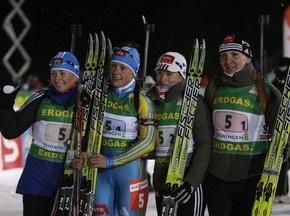 ЧЕ-2009: Украина завоевывает золото в эстафете