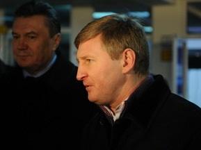 Янукович не полетел в Лондон на игру Шахтера