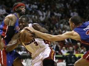 NBA: Поршни сдулись
