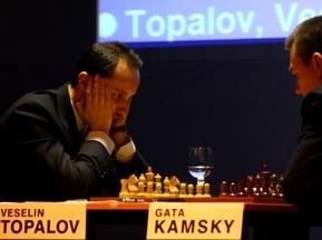 Топалов одержал вторую победу над Камским