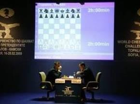 Шахи: Білі знову не допомогли Топалову