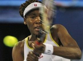 Вінус Вільямс обіграла сестру і вийшла у фінал турніру в Дубаї