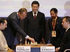 Шахматы: Камский отдал победу Топалову