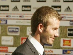 Милан планирует подписать Бекхэма до 2010 года
