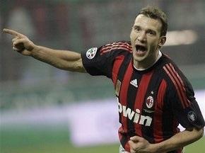 Шевченко не зіграє в Кубку УЄФА
