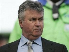 Хиддинк приступил к исполнению обязанностей тренера Челси