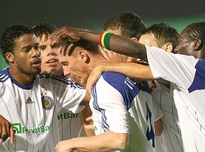 Динамо не смогло одолеть Эсбьерг