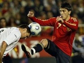 Испания побеждает Англию