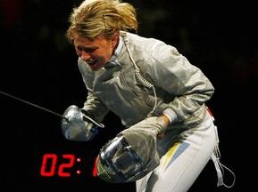 Ольга Харлан завоювала срібло на етапі Гран-прі з фехтування