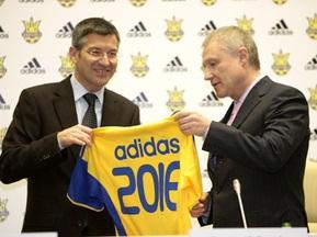 Збірну України одягатиме adidas