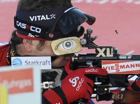 Бьорндален зламав гвинтівку напередодні Чемпіонату світу