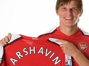 Официально: Аршавин стал игроком Арсенала
