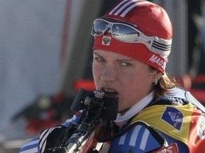 С сайта российской биатлонистки пропала новость о непричастности к допингу