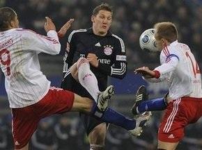 Бундеслига: Гамбург побеждает Баварию и взлетает на вершину турнирной таблицы