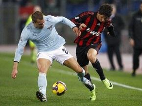 Серия А: Милан громит Лацио, Интер не смог справиться с Торино