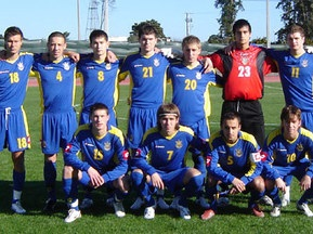 Молодежная сборная Украины по футболу сыграет с турками