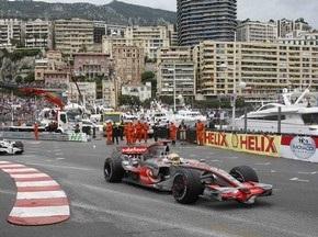 Трасса Формулы-1 в Монако признана спортивным чудом света