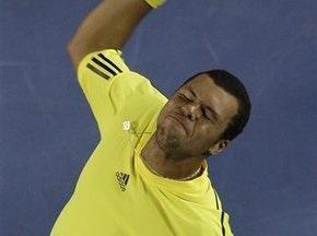 Australian Open: Жо-Вильфред Тсонга выходит в четвертьфинал
