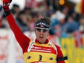 Биатлон: Свендсен берет золото в спринте