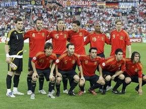 Сайт УЕФА назвал символическую сборную года