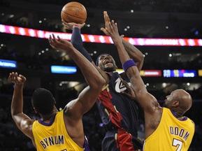 NBA: Лейкерс растоптали Кавалеристов