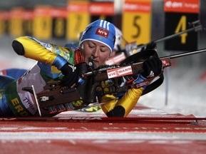 Віта Семеренко стала найкращою біатлоністкою грудня