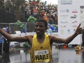 В Дубайском марафоне победил Гебрселассие
