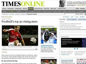 The Times назвал несуществующего молдаванина будущей звездой футбола