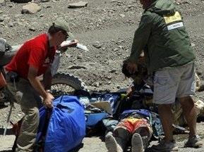 Іспанський мотогонщик ралі Дакар-2009 перебуває в комі