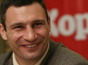 Виталий Кличко: Кризис отразился на нашей промоутерской компании