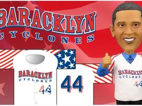 Бейсбольная команда на одну игру возьмет имя Обамы
