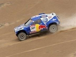 Дакар-2009: Сайнс выиграл третий этап подряд